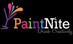 charles hotel team paint night event
